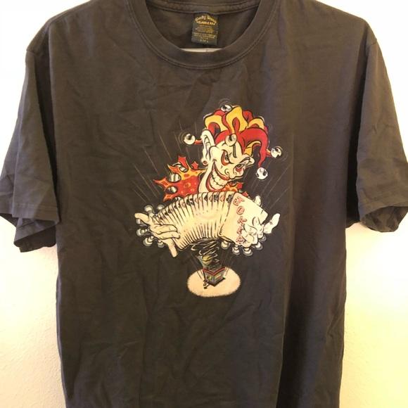 16684a1e7 Lucky Brand Shirts | Joker Cards Vintage T Shirt Sz Large | Poshmark